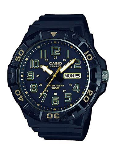 Casio Reloj Analogico para Hombre de Cuarzo con Correa en Resina MRW-210H-1A2VEF