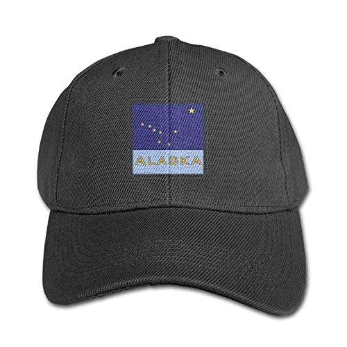 Funny Baseball Caps Hats Alaska Flag Patch Pure Color Baseball Cap Cotton Adjustable Kid Boys Girls Hat - Realtree Patch Cap