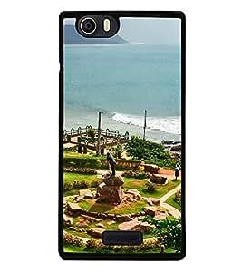Fuson Designer Back Case Cover for Micromax Canvas Nitro 2 E311 (Tenneti Park Visakhapatnam City Of Destiny Beach View Vizag)