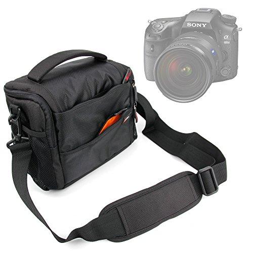 Bolsa Acolchada para Sony Cyber-shot hx350/DSC-HX90V/HX90| A99II | A68| dsc-rx10m3/RX10III | A6300| RX10II, DSC-RX10M2| A7R II, ILCE-7RM2| A6000| A6000L–con compartimentos–DURAGADGET