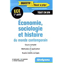 Économie Sociologie Histoire du Monde Contemporain 1re Année ECE