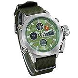 Zeiger Orologio sportivo da uomo al quarzo con sveglia, cronometro, cronografo W220