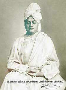 Athahdesigns Wall Poster Swami Vivekananda