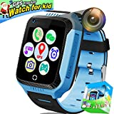 Enfants Montre Téléphone Intelligent, 1,44 'Touch GPS Tracker Montre Intelligente Au Poignet Pour Les Filles De Garçons Avec Caméra Carte SIM Anti-Slot SOS