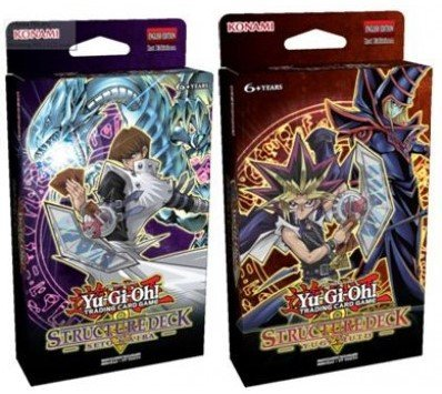 Yu-Gi-Oh! TCG Structure Deck Yugi Muto/ Structure Deck Seto Kaiba 2016 by...