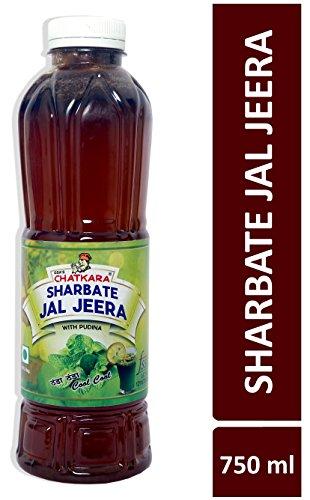 GSA's Chatkara® Jal Jeera (750ml) Juice containing Pudina, Jeera & Ginger Powder, Black Pepper. Body Coolant Drink for Increasing Digestive Power & Detoxification.