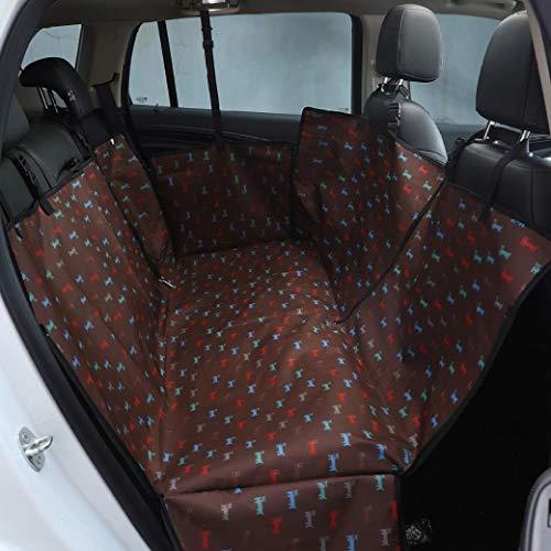 AMURAO Auto Liner Rücksitz Protector Hängematte Hund Haustiere Boden Teppich Sicherheit Oxford Abdeckung Fahrzeug wasserdichte Reisematte -