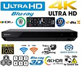 #6: Sony UBP-X700 4K ULTRA HD 3D WiFi [Region Free] Blu-ray Player Dolby ATMOS/VISION / 120-220 Voltage Dual HDMI