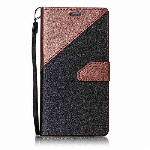 Nancen Compatible with Handyhülle Galaxy S6 Edge/SM-G925 (5,1 Zoll) Hülle PU Leder Tasche Schutzhülle Flip Case Wallet für, Magnetverschluss Standfunktion Brieftasche und Karten Slot