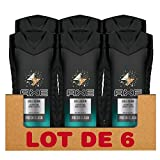 Axe Duschgel Collision Leather & Cookies, 250 ml, 6er Pack (6 x 250 ml)