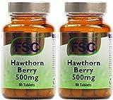 (2 Pack) - FSC - Hawthorn Berry 500mg   90