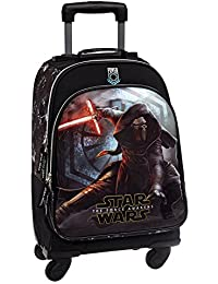 Star Wars The Force Awakens Mochila Infantil, Color Negro, 29.56 Litros