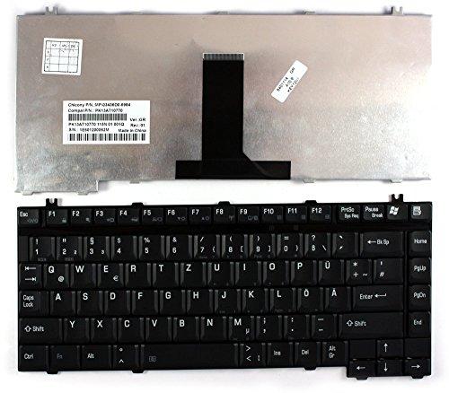 Toshiba Satellite A75-S2261 Nero Layout Tedesco Tastiera sostitutiva per