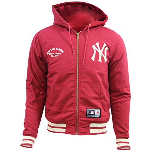 Majestic DEERING NEW YORK YANKEE HOODIE Herren Major League Baseball Jacke Neu -