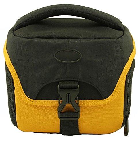 Panasonic lumix dc-fz82, set di accessori per fotocamera con borsa elegante ds67, inclusa borsa per fotocamera con pellicola protettiva per il display specifica per il dispositivo