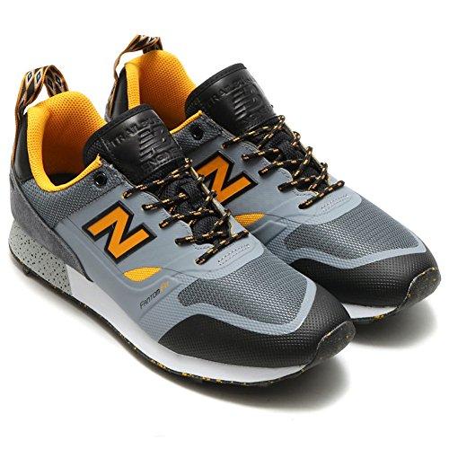 New Balance - Herren Trailbuster Re-Engineered-Schuhe Light Grey/Grey/Chromatic Yellow