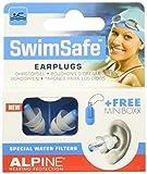 Alpine SwimSafe - Ohrstöpsel zum Schwimmen & gegen Wasser, Gratis Miniboxx