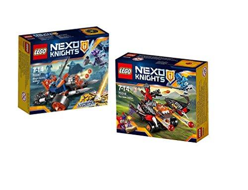 Preisvergleich Produktbild Lego ® Nexo Knights Set 70347 - Bike der königlichen Wache und 70318 Globlin Armbrust