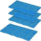 Bodenrost, blau, LxBxH 800 x 400 x 25 mm, 1,28 m², VE = 4 Stück
