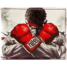 Cartera de Capcom Street Fighter Lucha Ryu, Ken Blanco