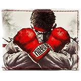 Capcom Street Fighter Ryu Ken Lotta bianca portafoglio