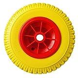 dschili Online 20,3cm/25,4cm Ersatz Durable Pannensichere Gummi Reifen an rot Rad für Kajak Kanu Boot Trolley Warenkorb Transportbox