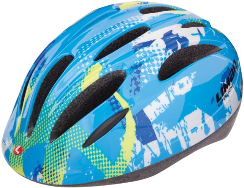 LIMAR AC121 CE 37 S 121 BLUE STAR CASCO BICI  COLOR AZUL  BLANCO Y AMARILLO  TALLA S