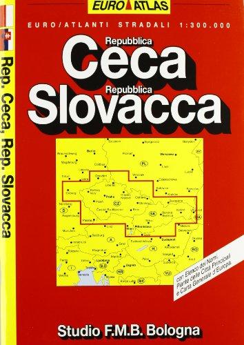 Repubblica Ceca. Repubblica Slovacca. Euro Atlante 1:300.000 (Euro Atlas)
