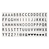 Farbige Buchstaben und Symbole, Y56A3A4A5Farbe Emoji-Buchstaben wie im Kino Light Up Sign Cinema Leuchtpult/Film Light Box Logo Expression/Symbol Typ A