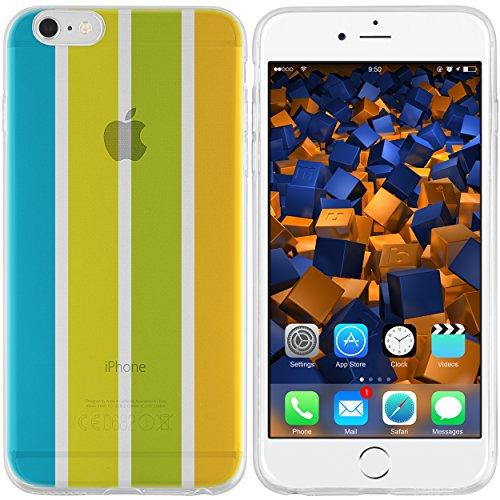 mumbi Schutzhülle für iPhone 6 6s Hülle Sommer gelb