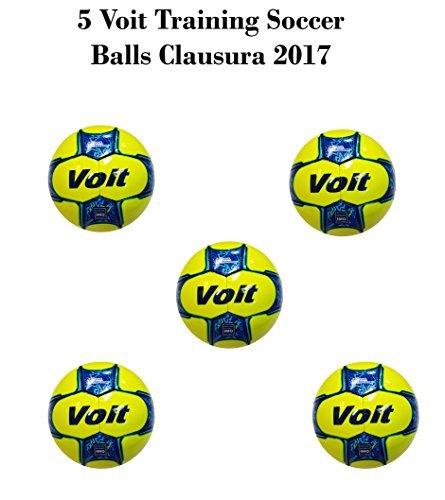 Voit OFFIZIELLER Training Ball Liga bancomer MX Clausura 2017Paket von 5