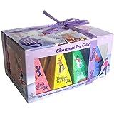 """English Tea Shop - Teegeschenk mit Schleife """"White Prism Christmas Collection"""", BIO, 12 Pyramiden-Beutel"""