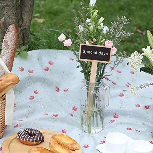 Surenhap Pflanzschilder Kräutergarten Beschriftung für Gewächshaus Balkon Hoch-Beet, Frühbeet, Blumen-Topf, Blumen-Kübel, 10pcs