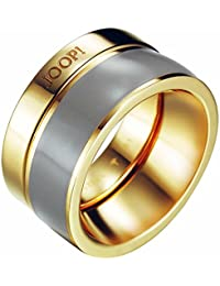 Joop Damen-Ring Pristine Edelstahl rhodiniert Kunststoff -