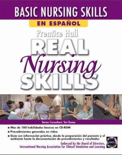 Prentice Hall Real Nursing Skills en Espanol por Pearson