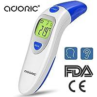 Infrarot Fieberthermometer Stirnthermometer Ohrthermometer, Digitales Medizinisches Thermometer für Kinder Baby Erwachsene, Professionelle Medizinisches Thermometer mit CE/FDA -Zertifiziert