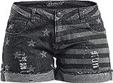Brandit Stars and Stripes Girl-Hot-Pant grau 29