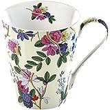 Creative Tops 1-Piece V&A Kilburn Cream Fine Bone China Mug in Gift Box