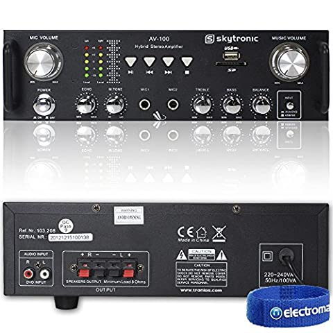 Skytronic AV-100 Stereo Amplifier