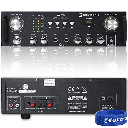 skytronic-av-100-stereo-amplifier