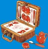Fuchs 4928 - Servizio da caffè in porcellana per 4 persone con valigetta - Breimeir - amazon.it