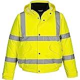 Portwest Bomberjacka med reflekterande ränder lysande gul