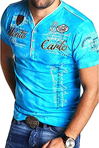 MT Styles 2in1 T-Shirt P-EXTEND Polo R-2892 [türkis, 3XL]