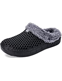 ALEADER Mens&Womens Garden Clogs Lightweigth Summer Sandals Winter Warm Slippers 2 Styles