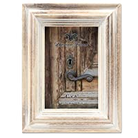 LawrenceFrames 732146 10cm x 15cm . Wash Maple Picture Frame, White