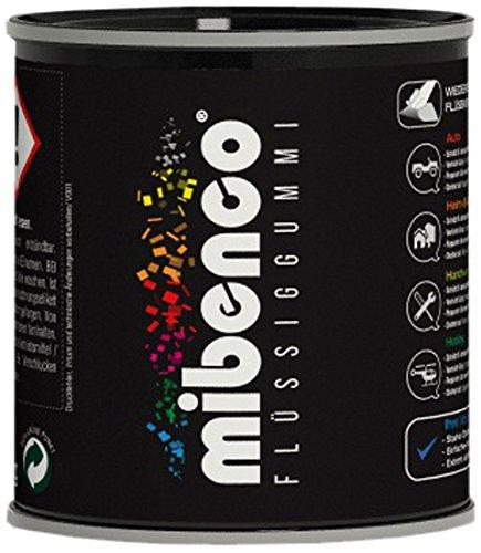 Preisvergleich Produktbild mibenco 72829005 Flüssiggummi Pur, 175 g, Schwarz Matt - Schutz und Isolation zum Tauchen und Pinseln