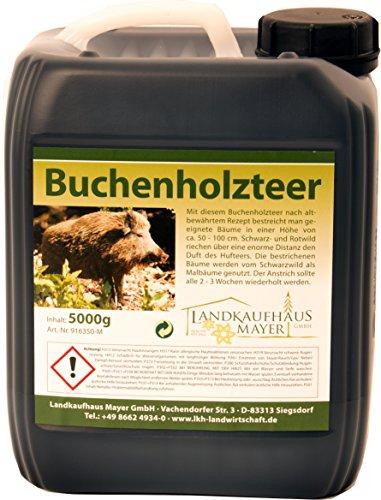 Landkaufhaus Buchenholzteer Lockmittel für den Malbaum 5Kg Test