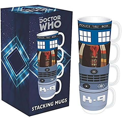Doctor Who Set of 4 Stacking