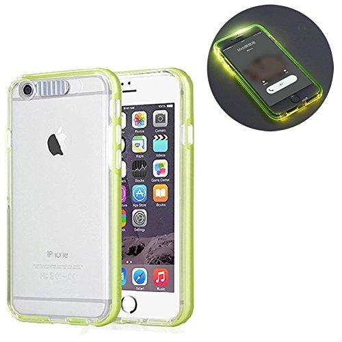 iPhone 6 Plus / 6s Plus Coque Ultra Slim TPU Bumper Résistance Protection Cover Téléphones Cases pour Apple iPhone 6 Plus / 6s Plus (Bleu) Vert