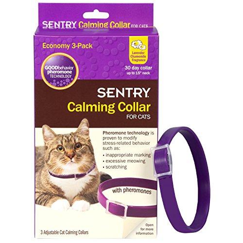 Collar calmante Sentry para gatos